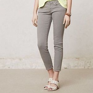 AG Adriano Goldschmied Grey Stevie Ankle Jeans 28R